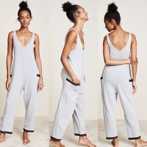Anthro Only Hearts French terry jumpsuit
